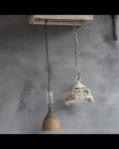 Hanglamp Plafonniere met 2 hanglampen