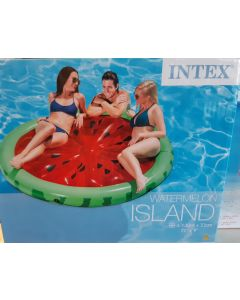 Intex opblaasbaar Zwemeiland, watermeloen