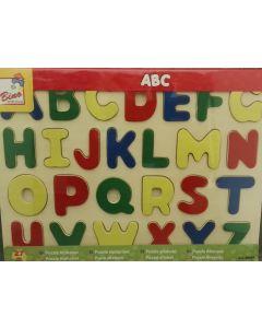 Houten Kinderpuzzel alfabet