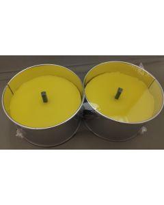 Citronella Kaars Outdoor set van twee