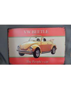Metalenbord VW BEETLE