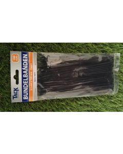 T-rap 2.5x160 mm  zwart