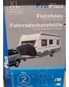 Fietshoes voor fietsenrek op auto of Camper