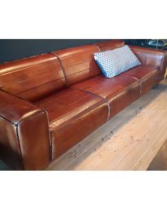 Design bank cognac 2.5 sits