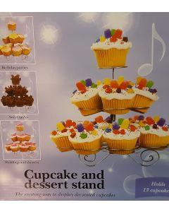 Cupcake en dessert standaard