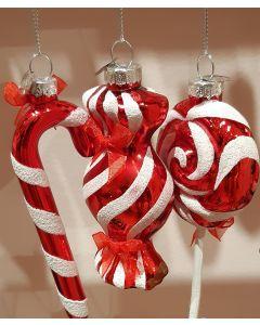 kersthangers snoep