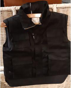 Kinderbody / vest zwart