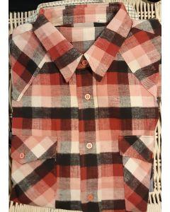 Overhemd flanel rood