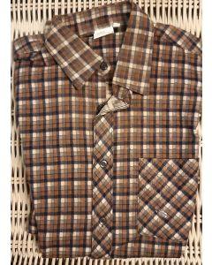 Overhemd flanel bruin