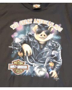 "Harley Davidson "" The Great American Hog"""