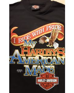 "Harley Davidson ""I Ride with pride"""