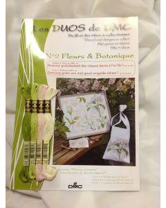 Borduurpakket: bloemen