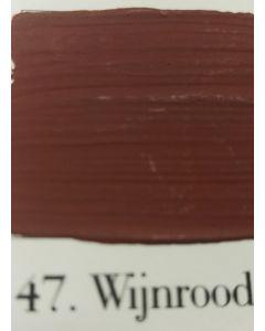 L'Authentique krijtverf Wijnrood