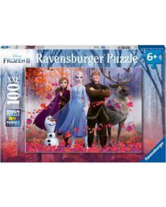 Puzzel Frozen Magie 100 stukjes