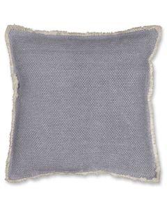 Kussen blauw grijs