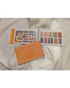 Borduurboek oranje