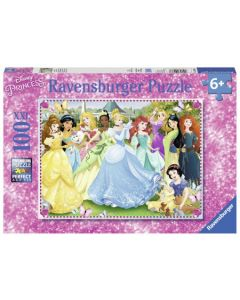 Puzzel Betoverende Prinsessen 100 stukjes