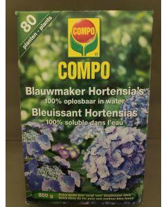 Blauwmaker Hortensia's