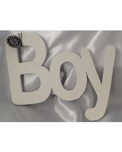Houten tekstbord, Boy