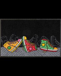 Design mat Happy Sneapers