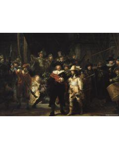 Puzzel 1000 De Nachtwacht-Rembrandt v Rijn