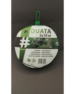 Tuinnet Duata (zwart) 3x10 m