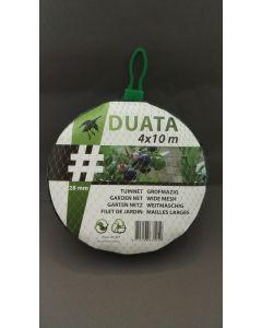 Tuinnet Duata (zwart) 4x10 m