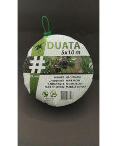 Tuinnet Duata (zwart) 5x10 m
