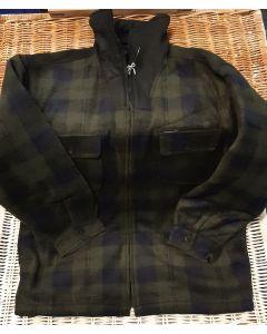 Fleece jas Groen zwart