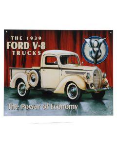 Ford metalen bord
