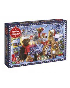 Puzzel Festive Friends 150 stukjes