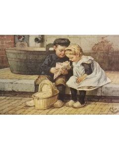 Placemat Ot en Sien nostalgie