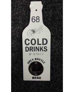 Flesopener Cold drinks