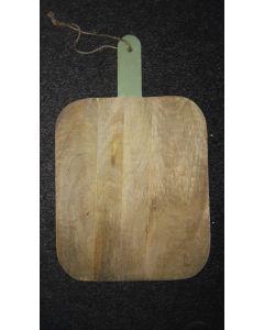 Houten snijplank met handvat