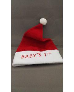 Kerstmuts Baby Rood