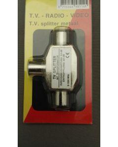 TV splitter metaal