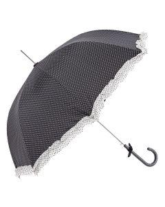 Clayre & Eef paraplu zwart
