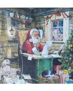 Servetten Kerstman
