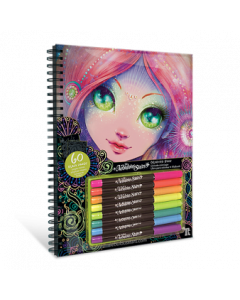 Nebulous Stars Kleurboek  Zwarte Pagina's  Coralia