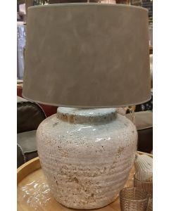 Lampenvoet gebroken wit