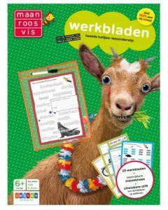 Maan Roos Vis werkbladen Leesonderwijs 2