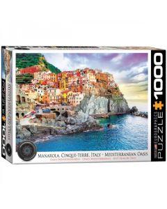 Puzzel Manarola Cinque  Terre Italy