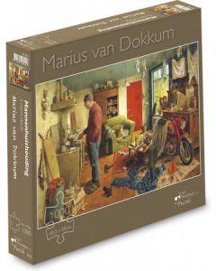 Puzzel  Marius Van Dokkum Mannenhuishouding