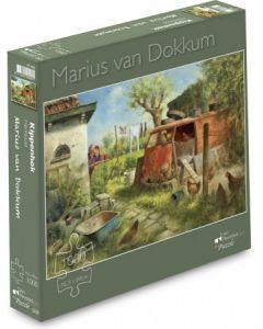Puzzel Marius van Dokkum Kippenhok
