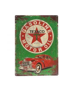 Texaco Metalen bord