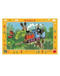 Molletje Puzzel trein