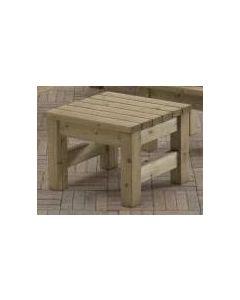 Talen geimpregneerde tafel zeist, hoogte is 45 cm