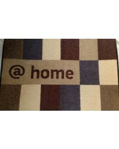 Kleen-Tex Design mat @home brownish