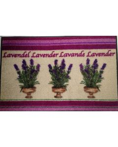 Kleen-Tex Design mat  Lavendel