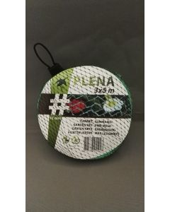 Tuinnet Plena (groen) 3x5 m